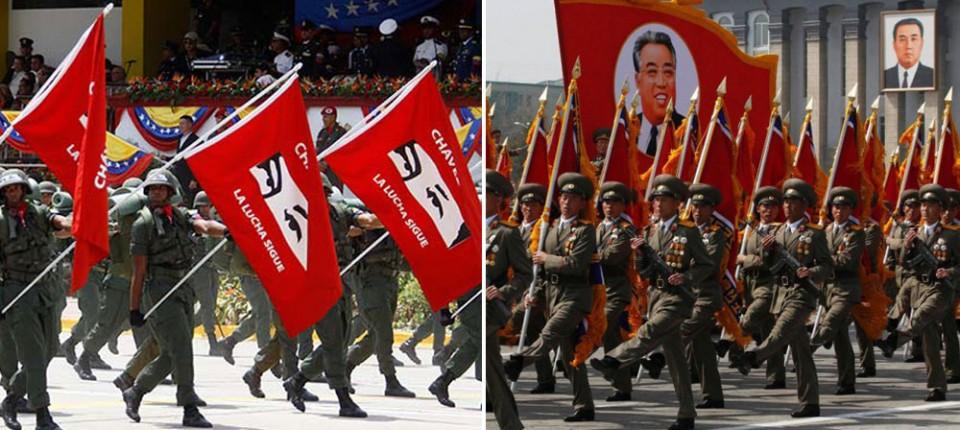 ¿Casualidad? 10 impresionantes similitudes entre Venezuela y Corea del Norte