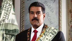 Maduro Today… el verdadero gerente de la falta de dólares del país (FOTOMONTAJE)
