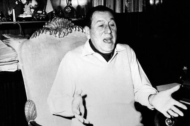 El argentino Juan Domingo Perón personifica al caudillo tradicional latinoamericano. Photo: O.d.P./ullstein bild/Getty Images