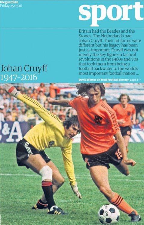 Johan Cruyff the guardian