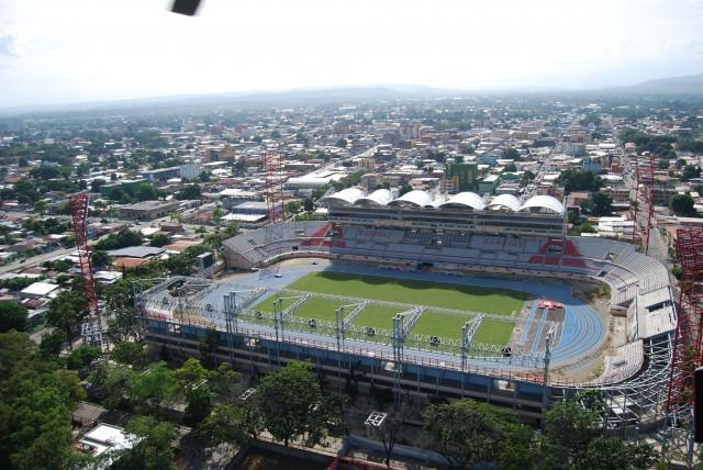 Imagen de archivo del estadio Agustín Tovar, conocido como La Carolina, en la ciudad de Barinas
