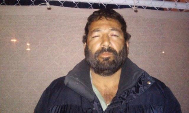 Raúl Beltrán Quintero, en imagen difundida por la Policía Federal