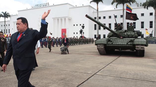 Durante la presidencia de Hugo Chávez Venezuela entró en la carrera armamentista con la compra de armamento ruso por varios miles de millones de dólares / foto AVN