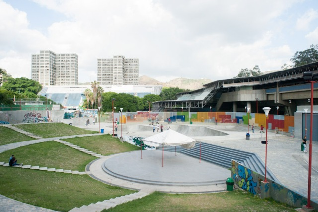 Parque Nuevas Generaciones en Caricuao