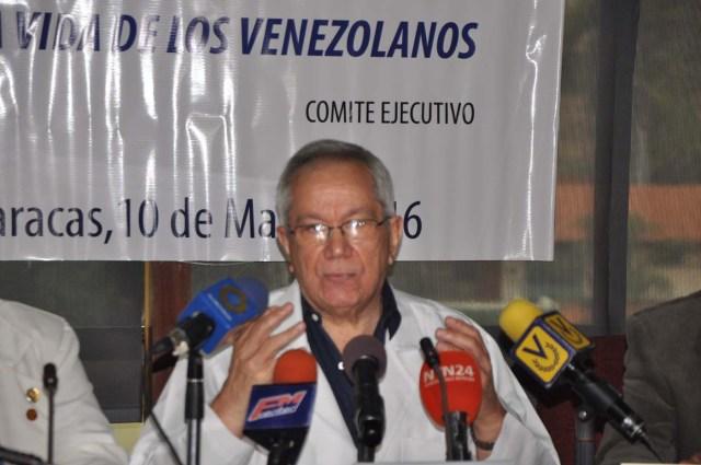 douglas natera federacion medica venezolana