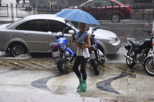 Lluvias continuarán en las próximas 48 horas en casi todo el país, según Inameh
