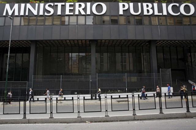 Fachada de la sede del Ministerio Públco en Caracas (Foto: Reuters)