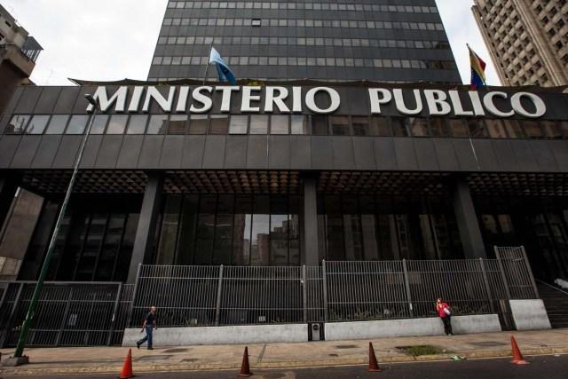 Fachada de la sede del Ministerio Públco en Caracas (Foto: EFE)