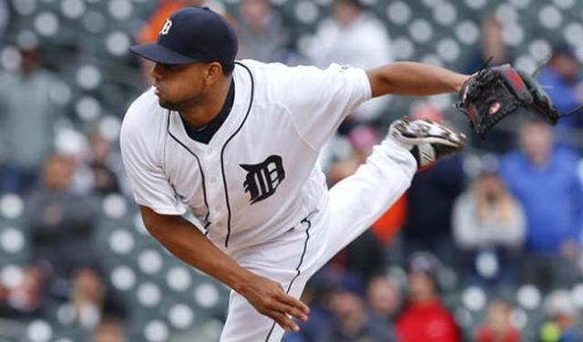 Francisco Rodríguez, cerrador de los Tigres de Detroit (Foto: AP)