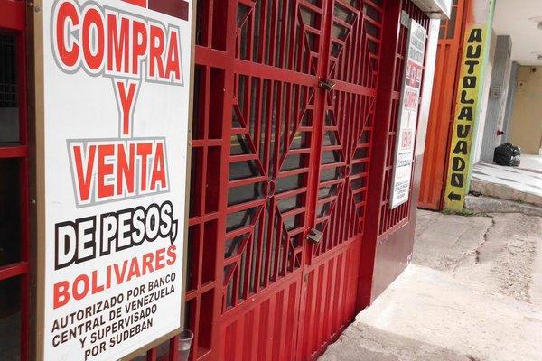 Las oficinas de los operadores cambiarios fronterizos, que se dedicaban a la compra-venta de pesos y bolívares, cesaron su actividad en agosto del año pasado por orden militar. (Foto/JGH)
