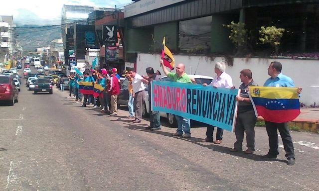 Diputado Jesús Báez recogió el malestar de los tachirenses en actividad realizada en Táriba.