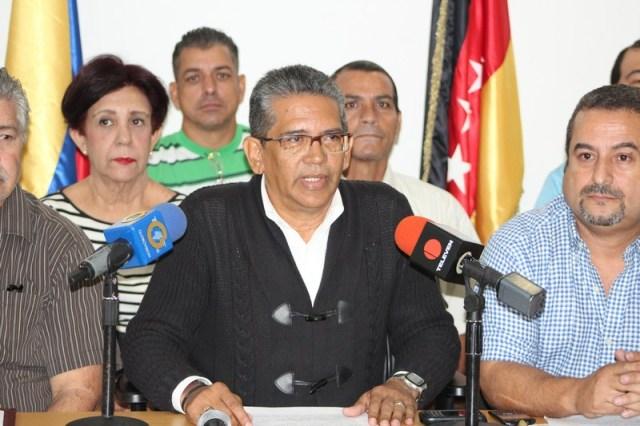 Franklin Velásquez, vocero intersindical de Trabajadores Miranda