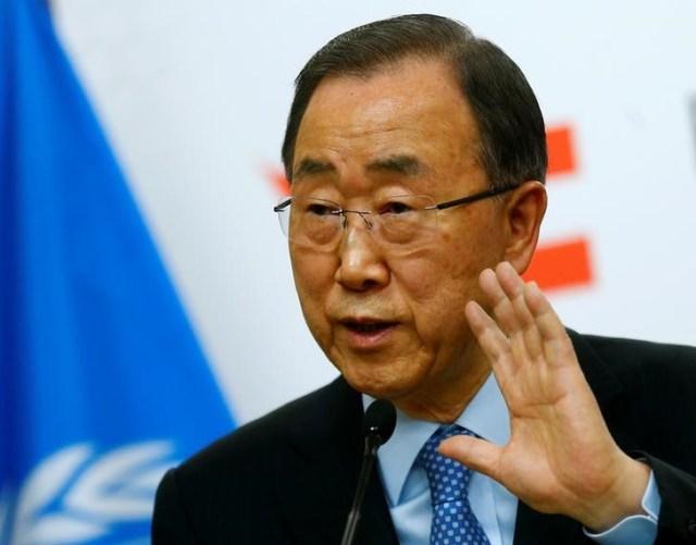 El Secretario General de Naciones Unidas, Ban Ki-moon. Reuters
