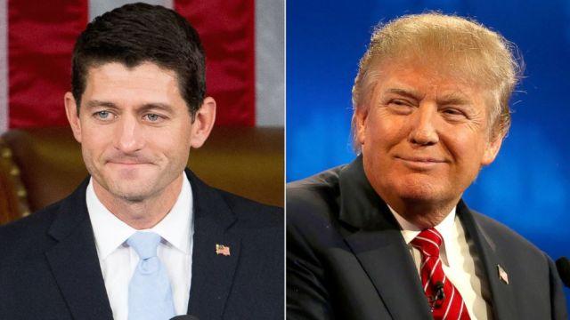 Foto: Paul Ryan y Donald Trump / abcnews.go.com