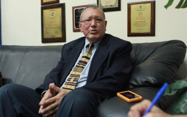 Maracaibo Venezuela 11/05/2016 Politica Aristoteles Torrealba Defensor del Pueblo en el estado Zulia en declaraciones a La Verdad