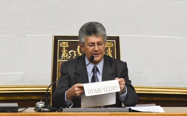 VENEZUELA-CONGRESS-RAMOS ALLUP