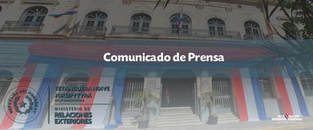 ParaguayMREComunicado