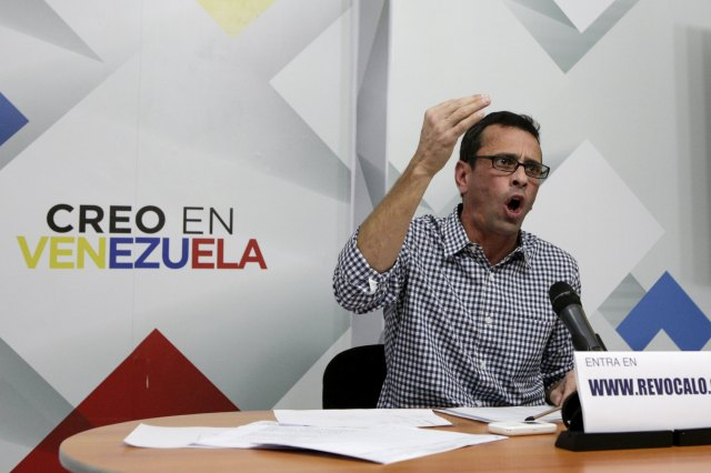 Henrique Capriles, gobernador del estado Miranda (Foto Reuters)