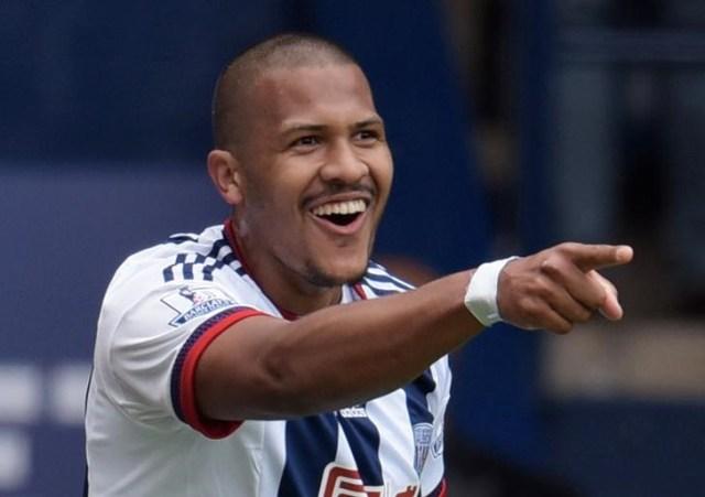 Salomón Rondón, delantero del West Bromwich Albion