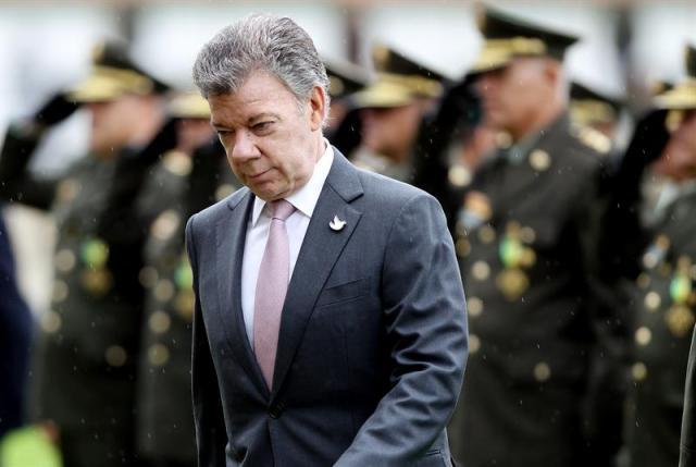 Juan Manuel Santos, presidente de Colombia (Foto EFE)