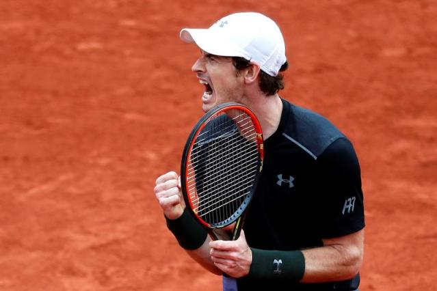 Andy Murray, tenista británico (Foto EFE)