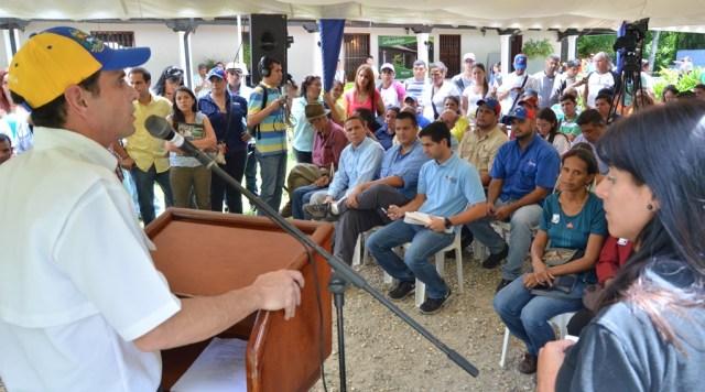 Henrique Capriles, gobernador del estado Miranda (Prensa HC)