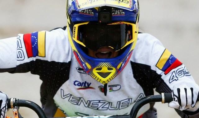 Stefany Hernández, bicicrosista venezolana ( Foto Dialcomm)