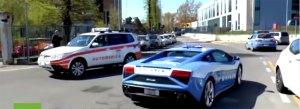 VIDEO: ¿Para qué utiliza la policía italiana sus dos Lamborghini?