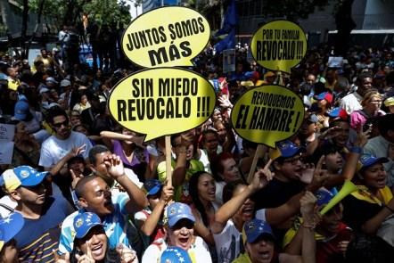 ProtestaSomosMasRevocatoriopresidencial25May2016