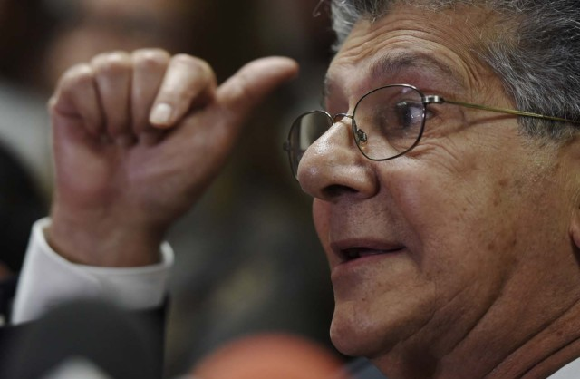 Henry Ramos Allup (Foto AFP)