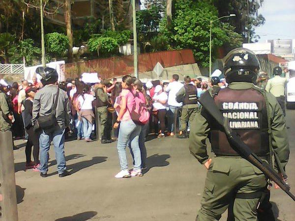 protesta docente miranda