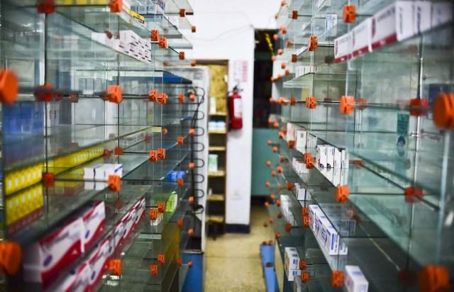 Escasez de medicinas e insumos médicos en el país / Foto Archivo