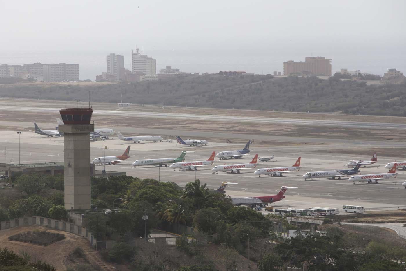 Resultado de imagen para Aeropuerto Internacional Caracas aeronaves
