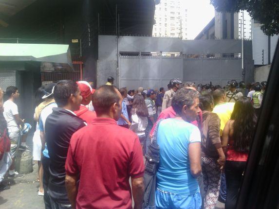 Protesta Centro Caracas 2