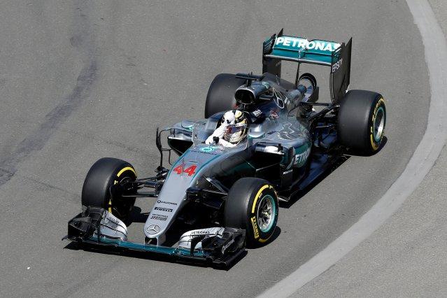 Lewis Hamilton, piloto de la escudería Mercedes (Foto: Reuters)