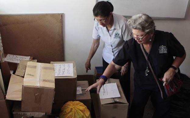Maracaibo, Venezuela, 09/08/2016. El Centro de Atención al Esquizofrenico y Familiares ,CATESFAM, tendra que cerrar sus puertas debido a la entrega de la vivienda que tienen en calidad de alquilada. En la foto: CATESFAM se quedara sin sede el 15 de junio.
