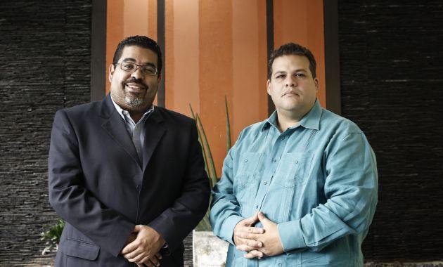 Winston Flores y Franco Casella
