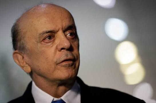 El ministro de Relaciones Exteriores del Brasil, José Serra (Foto: EFE)