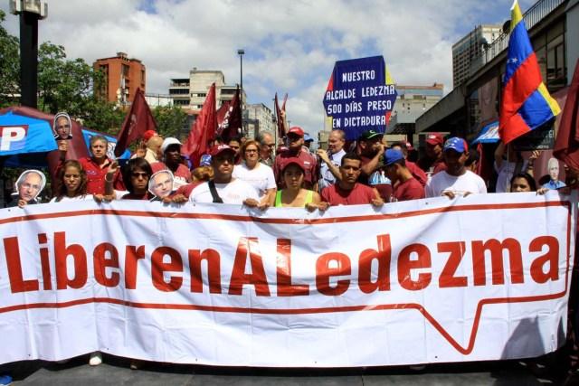 500 Dias preso Alcalde Ledezma