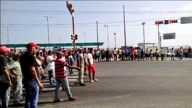Protesta en Vargas