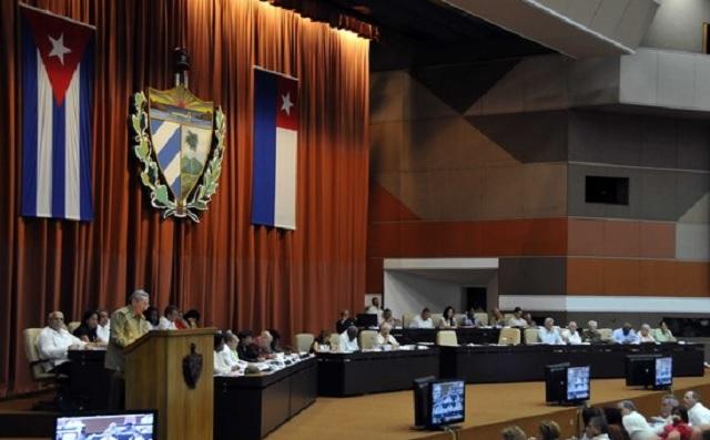 Raúl Castro durante su intervención en el VII Período Ordinario de sesiones de la Octava Legislatura de la Asamblea Nacional del Poder Popular / Cuba Debate