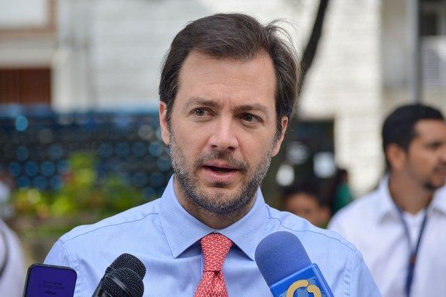 Alcalde del municipio Chacao, Ramón Muchacho.