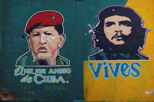 chavez cuba venezuela