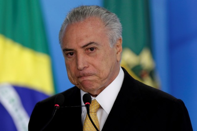 El presidente interino de Brasil, Michel Temer (Foto: Reuters)