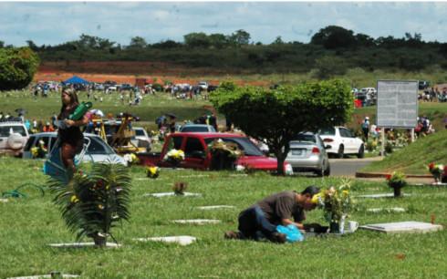 Cementerio Jardines del Orinoco, en Puerto Ordaz
