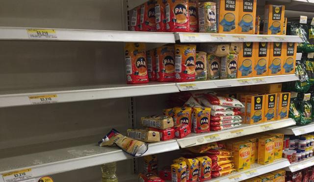 La harina Pan es uno de los productos más escasos en Cúcuta