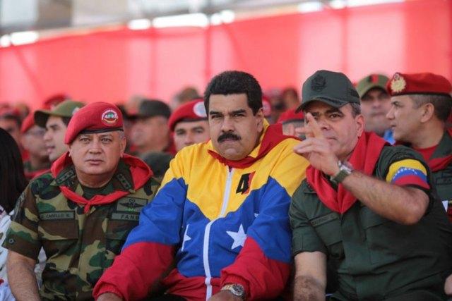 Cabello, Maduro y Padrino