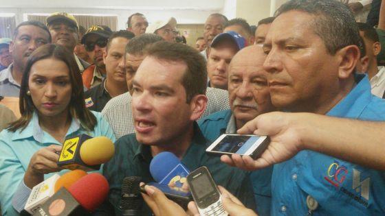 Tomas Guanipa en Puerto Ordaz 20-07-2016