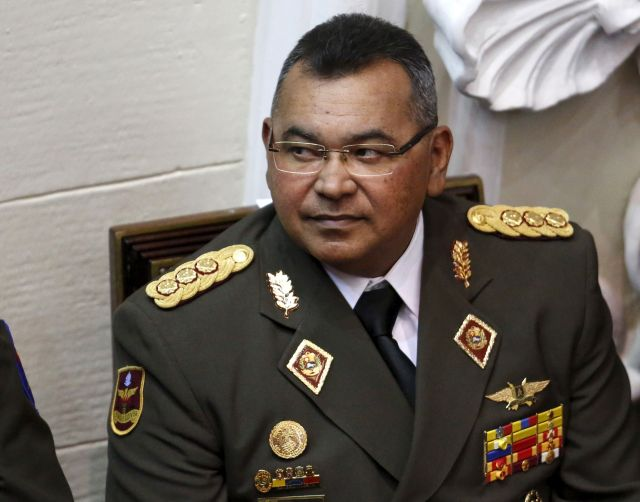 Nestor Reverol, General Commander of the Venezuelan National Guard, attends the annual state of the nation address by President Nicolas Maduro at the National Assembly in Caracas January 15, 2016. REUTERS/Carlos Garcia Rawlins/File Photo