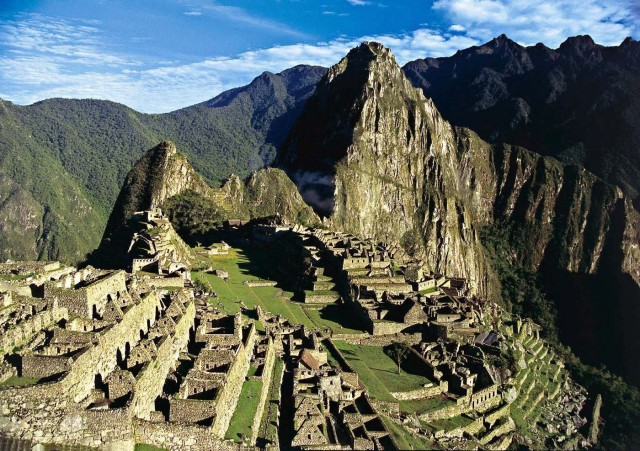 MD45 MADRID 07/07/2007.- Foto de archivo sin fecha de la ciudadela inca de Machu Pichu (Perú). Monumento que obtuvo hoy el título de cuarta de las Nuevas 7 Maravillas del Mundo votadas por internet y mensajes de teléfono por iniciativa de una fundación suiza y anunciada hoy en la capital portuguesa. EFE/***SOLO USO EDITORIAL***[SOLO USO EDITORIAL]